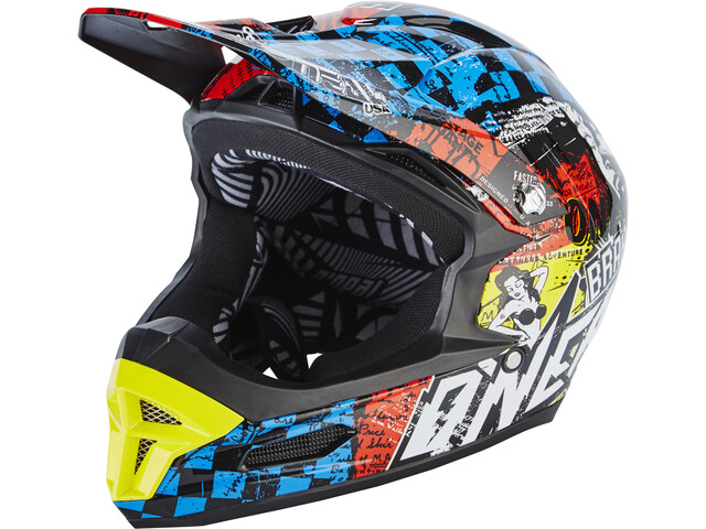 O'Neal Fury RL Casque, wild-multi
